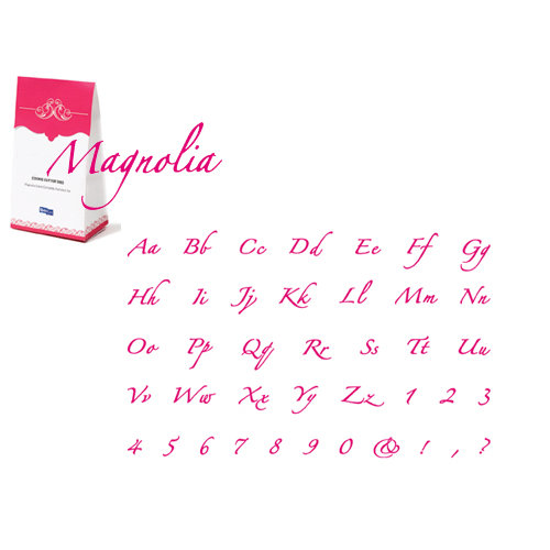 Quickutz - Cookie Cutter Dies - Complete Alphabet Set - Magnolia