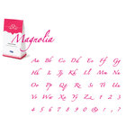 Quickutz - Cookie Cutter Dies - Complete Alphabet Set - Magnolia