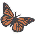 QuicKutz - Revolution Dies - Monarch Butterfly