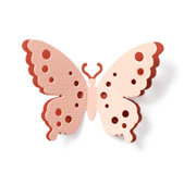QuicKutz - Revolution - 4 x 4 Shape Die - Spotted Butterfly