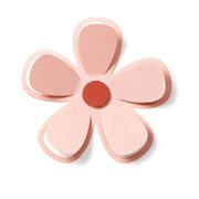 QuicKutz - Revolution - 4 x 4 Shape Dies - 5 Petal Flower