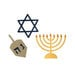 Lifestyle Crafts - Die Cutting Template - Hanukkah