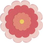 Lifestyle Crafts - Die Cutting Template - Flower 3