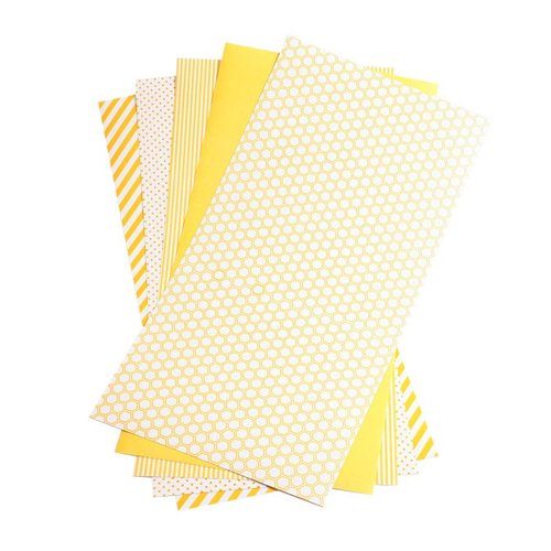 Lifestyle Crafts - Shape 'N Tape - 6 x 12 Decorative Adhesive Sheets - Yellow
