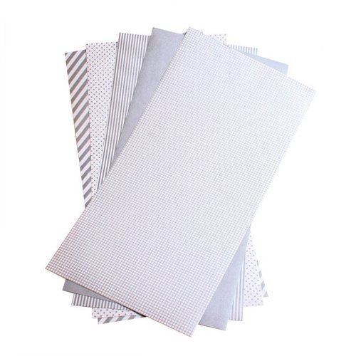 Lifestyle Crafts - Shape 'N Tape - 6 x 12 Decorative Adhesive Sheets - Silver