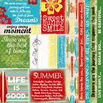 Quick Quotes - Be Bold Collection - 12 x 12 Paper - Phrases