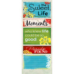 Quick Quotes - Be Bold Collection - Cardstock Strip - Words and Phrases