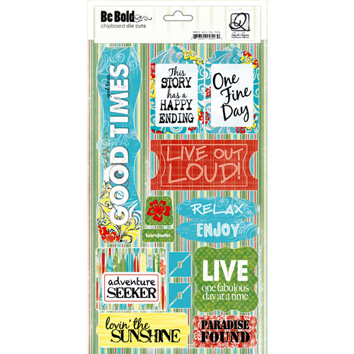 Quick Quotes - Be Bold Collection - Chipboard Die Cuts