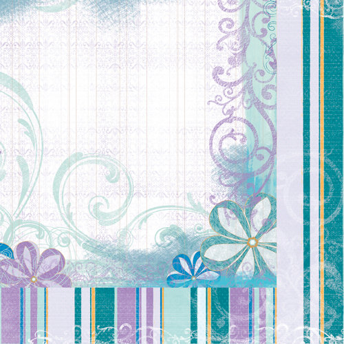 Quick Quotes - Summer Breeze Collection - 12 x 12 Double Sided Paper - One