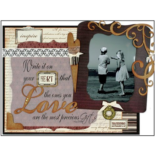 Quick Quotes - Home Decor Collection - Wall Hanging Canvas Kit - Love, CLEARANCE