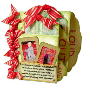 Quick Quotes - Canvas Book Kit - Live Out Loud, CLEARANCE