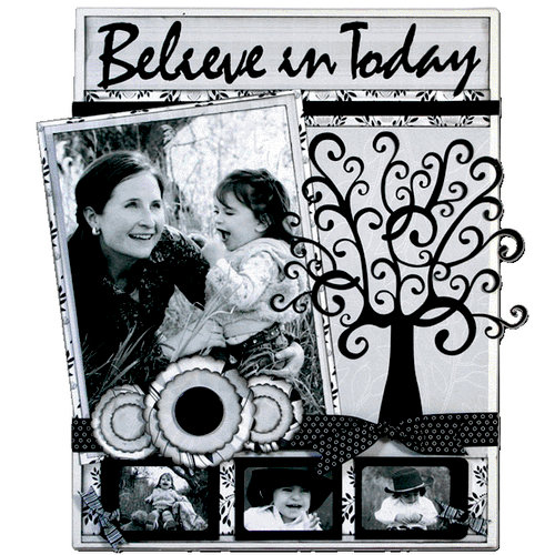 Quick Quotes - Home Decor Collection - Wall Hanging Canvas Kit - Believe in Today, CLEARANCE