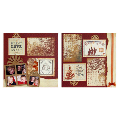 Quick Quotes - Christmas Collection - 12 x 12 Page Kit - Holiday Love