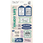 Quick Quotes - Dusty Road Collection - Chipboard Die Cuts