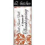 Quick Quotes - Fall Collection - Color Vellum Quote Strip - Fall Sweet Fall