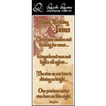Quick Quotes - Christmas Collection - Color Vellum Quote Strip - Happy Birthday Jesus