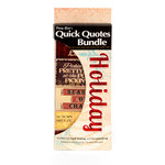 Quick Quotes - Bundle of Quotes and Phrases - Cardstock and Vellum Quote Strips - Holiday