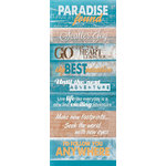 Quick Quotes - Stowaway Collection - Cardstock Strip - Words and Phrases