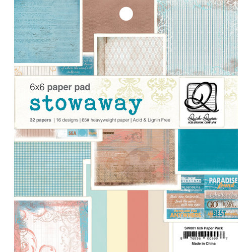 Quick Quotes - Stowaway Collection - 6 x 6 Paper Pad