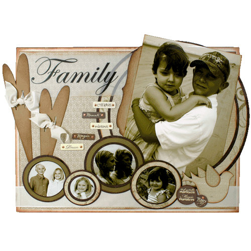 Quick Quotes - Home Decor Collection - Wall Hanging Canvas Kit - Family, CLEARANCE