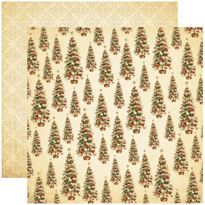 Reminisce - A Christmas Story Collection - 12 x 12 Double Sided Paper - O Christmas Tree