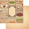 Reminisce - Brimstone Bulletin Collection - 12 x 12 Double Sided Paper - Brimstone Bulletin