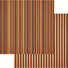 Reminisce - Brimstone Bulletin Collection - 12 x 12 Double Sided Paper - Brimstone Stripe