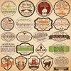 Reminisce - Brimstone Bulletin Collection - 12 x 12 Cardstock Stickers - Label
