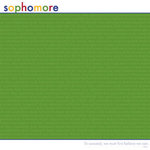 Reminisce - Back to School Collection - Patterned Paper - Sophomore
