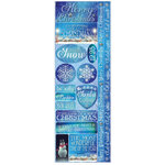 Reminisce - Christmas Town Collection - Cardstock Stickers - Combo