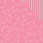 Reminisce - Cowgirl Collection - 12 x 12 Double Sided Paper - Pretty in Pink
