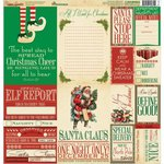 Reminisce - Dear Santa Collection - Christmas - 12 x 12 Cardstock Stickers - Poster