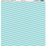 Ella and Viv Paper Company - Bundle of Joy Blue Collection - 12 x 12 Paper - Five
