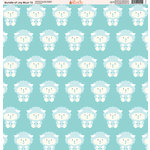 Ella and Viv Paper Company - Bundle of Joy Blue Collection - 12 x 12 Paper - Twelve