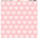 Ella and Viv Paper Company - Bundle of Joy Pink Collection - 12 x 12 Paper - Two