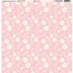 Ella and Viv Paper Company - Bundle of Joy Pink Collection - 12 x 12 Paper - Four
