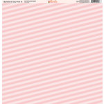 Ella and Viv Paper Company - Bundle of Joy Pink Collection - 12 x 12 Paper - Six