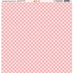 Ella and Viv Paper Company - Bundle of Joy Pink Collection - 12 x 12 Paper - Eight