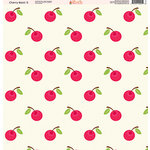 Ella and Viv Paper Company - Cherry Blast Collection - 12 x 12 Paper - Two