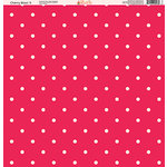 Ella and Viv Paper Company - Cherry Blast Collection - 12 x 12 Paper - Five