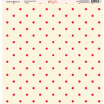 Ella and Viv Paper Company - Cherry Blast Collection - 12 x 12 Paper - Eight