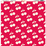 Ella and Viv Paper Company - Cherry Blast Collection - 12 x 12 Paper - Nine