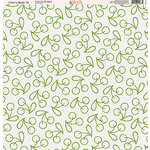 Ella and Viv Paper Company - Cherry Blast Collection - 12 x 12 Paper - Ten