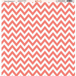 Ella and Viv Paper Company - Coral Patterns Collection - 12 x 12 Paper - One