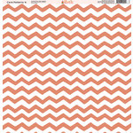 Ella and Viv Paper Company - Coral Patterns Collection - 12 x 12 Paper - Four