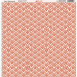 Ella and Viv Paper Company - Coral Patterns Collection - 12 x 12 Paper - Five
