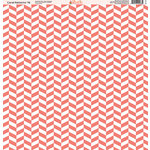 Ella and Viv Paper Company - Coral Patterns Collection - 12 x 12 Paper - Sixteen