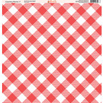 Ella and Viv Paper Company - Country Picnic Collection - 12 x 12 Paper - Seven