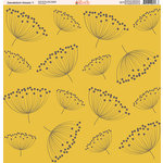Ella and Viv Paper Company - Dandelion Kisses Collection - 12 x 12 Paper - One