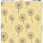 Ella and Viv Paper Company - Dandelion Kisses Collection - 12 x 12 Paper - Three